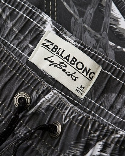 2 Sundays Layback Boardshorts Black M183QBSE Billabong