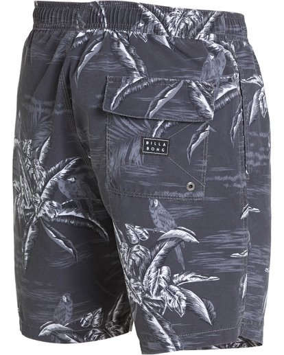 4 Sundays Layback Boardshorts Black M183QBSE Billabong