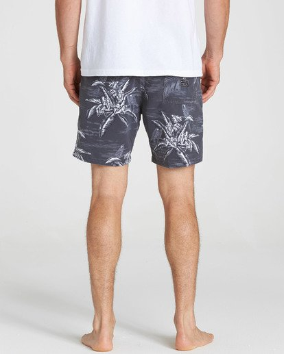 7 Sundays Layback Boardshorts Black M183QBSE Billabong
