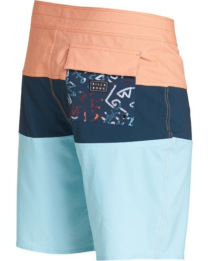 3 Tribong Solid Pro Boardshorts Orange M183TBTP Billabong