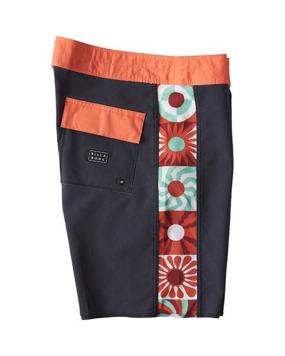 3 Dawn Patrol D Bah Boardshorts Black M183VBDP Billabong
