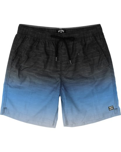 0 All Day Fade Layback Boardshorts Blue M1841BFB Billabong