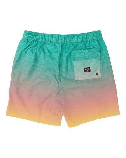 1 All Day Fade Layback Boardshorts Multicolor M1841BFB Billabong