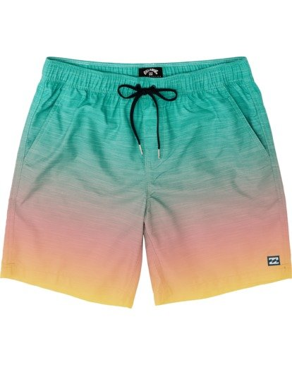 0 All Day Fade Layback Boardshorts Multicolor M1841BFB Billabong