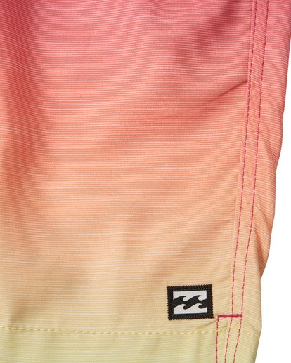 5 All Day Fade Layback Boardshorts Orange M1841BFB Billabong