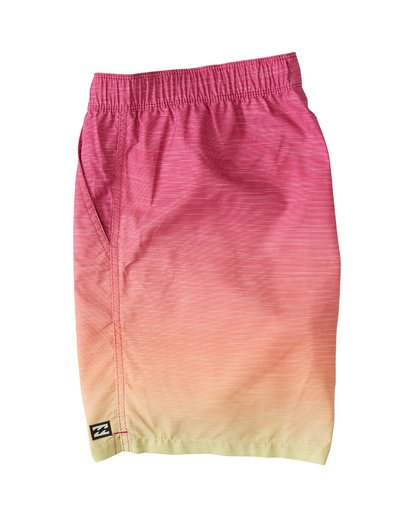 2 All Day Fade Layback Boardshorts Orange M1841BFB Billabong