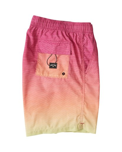3 All Day Fade Layback Boardshorts Orange M1841BFB Billabong
