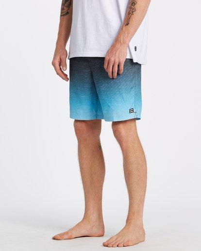 3 All Day Fade Layback Boardshorts Blue M1841BFB Billabong