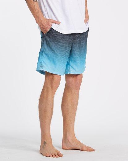 4 All Day Fade Layback Boardshorts Blue M1841BFB Billabong