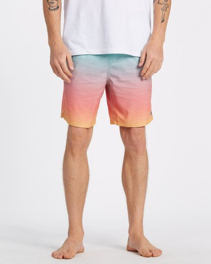 2 All Day Fade Layback Boardshorts Multicolor M1841BFB Billabong