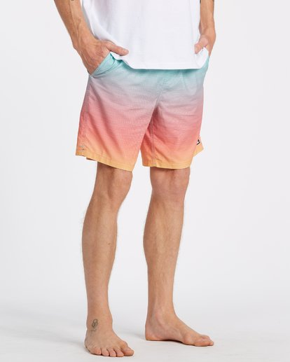 4 All Day Fade Layback Boardshorts Multicolor M1841BFB Billabong
