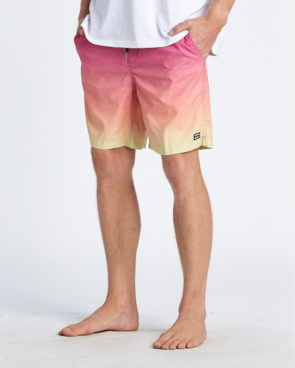 8 All Day Fade Layback Boardshorts Orange M1841BFB Billabong