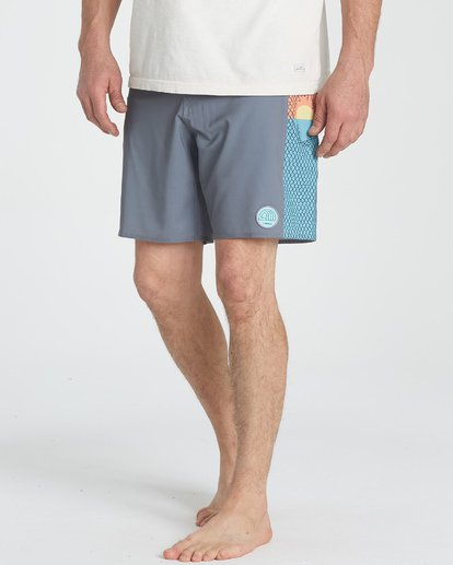 9 Split Scene Boardshorts Grey M185UBSS Billabong