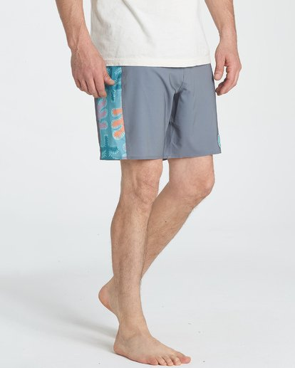 10 Split Scene Boardshorts Grey M185UBSS Billabong