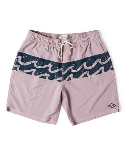 0 Tribong Layback Boardshorts Purple M185WBTL Billabong