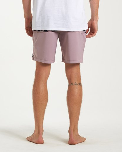 8 Tribong Layback Boardshorts Purple M185WBTL Billabong