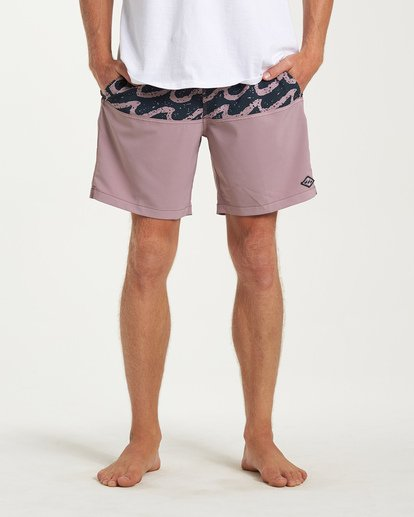 6 Tribong Layback Boardshorts Purple M185WBTL Billabong