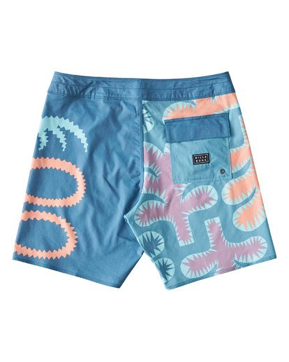 1 Strange Flora Boardshorts Orange M186UBSF Billabong