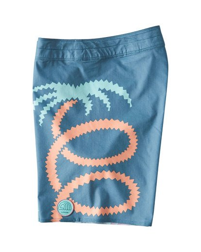 2 Strange Flora Boardshorts Orange M186UBSF Billabong