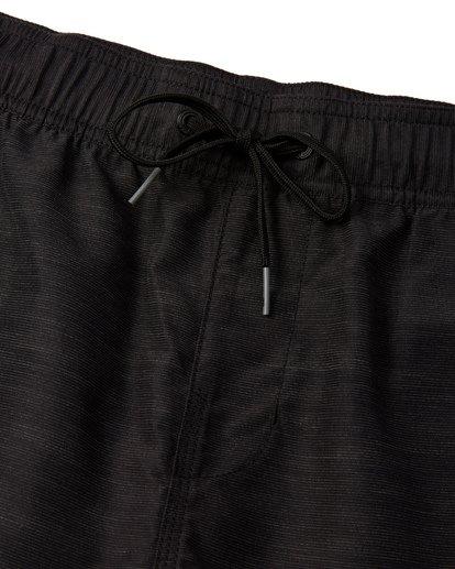 4 All Day Slub Layback Boardshorts Black M1871BSB Billabong