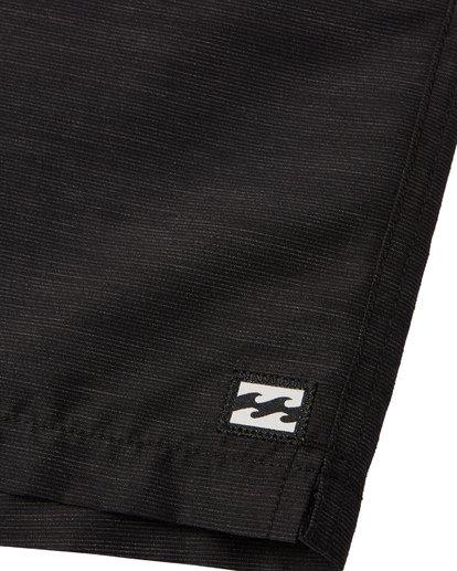 5 All Day Slub Layback Boardshorts Black M1871BSB Billabong