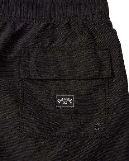 6 All Day Slub Layback Boardshorts Black M1871BSB Billabong