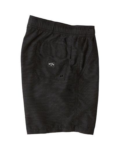 3 All Day Slub Layback Boardshorts Black M1871BSB Billabong