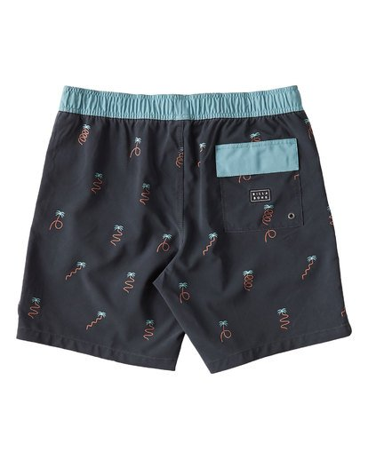 1 Busy Palms Boardshorts Blue M187UBBP Billabong