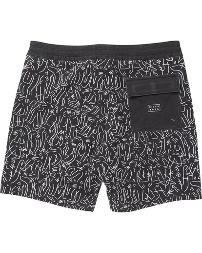 1 Barbus Printed Boardshorts Black M190SBBA Billabong