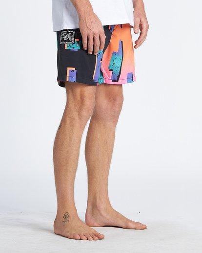 9 Sundays Interchange Originals Boardshorts Grey M1921BOP Billabong