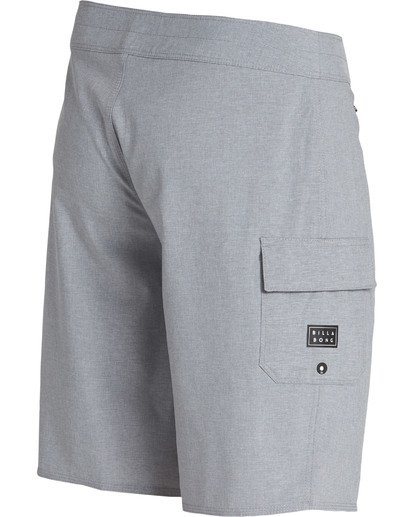 2 All Day X Hawaii Boardshorts Grey M193NBAL Billabong
