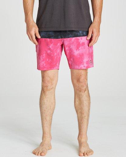 3 Fifty50 Reissue Boardshorts Pink M193QBFR Billabong