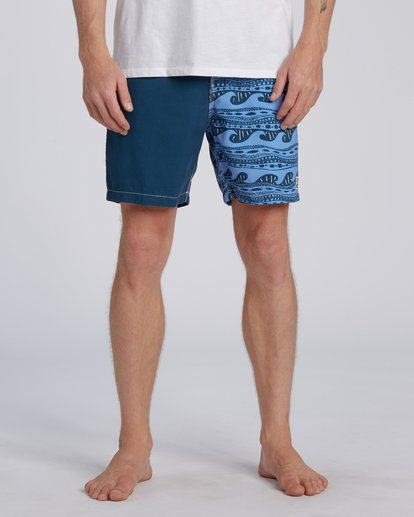 2 Halfrack Originals  Boardshorts Blue M1943BSP Billabong