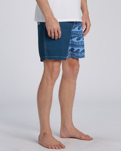 3 Halfrack Originals  Boardshorts Blue M1943BSP Billabong