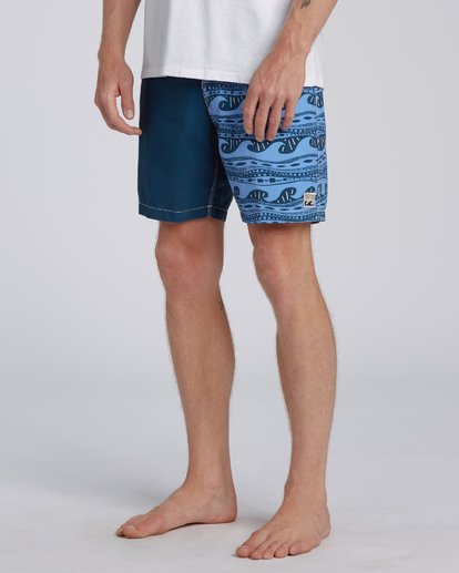 4 Halfrack Originals  Boardshorts Blue M1943BSP Billabong