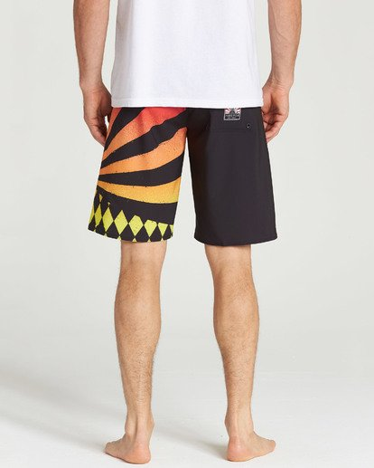 4 Rising Sun Boardshorts Black M195TBAI Billabong