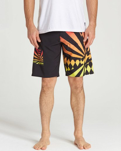 3 Rising Sun Boardshorts Black M195TBAI Billabong