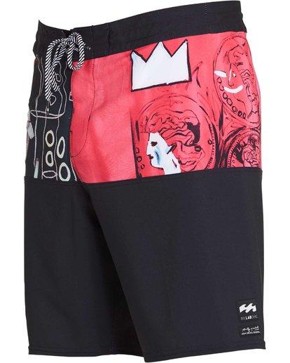 1 Men's New Flame X Boardshorts Pink M196PBNF Billabong