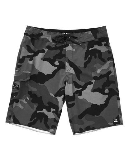 0 All Day Camo Pro Boardshorts Black M196TBAD Billabong