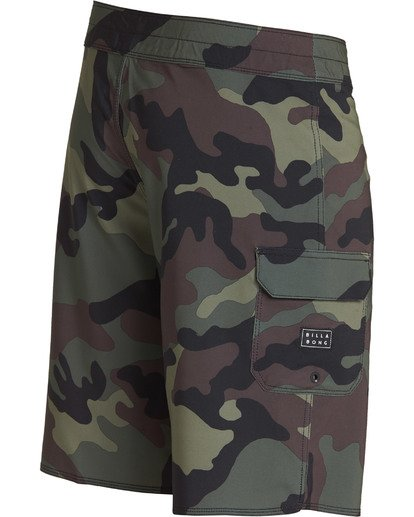 3 All Day Camo Pro Boardshorts Camo M196TBAD Billabong