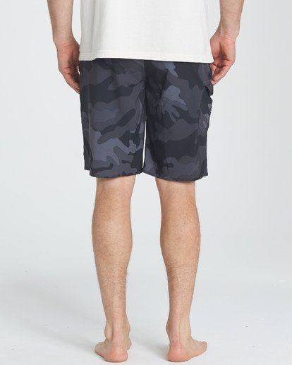 7 All Day Camo Pro Boardshorts Black M196TBAD Billabong