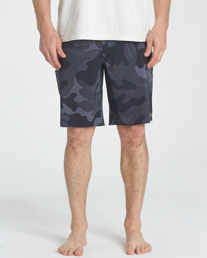 4 All Day Camo Pro Boardshorts Black M196TBAD Billabong