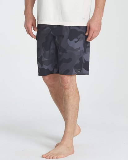 5 All Day Camo Pro Boardshorts Black M196TBAD Billabong