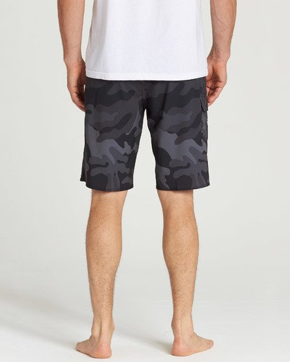 9 All Day Camo Pro Boardshorts Black M196TBAD Billabong