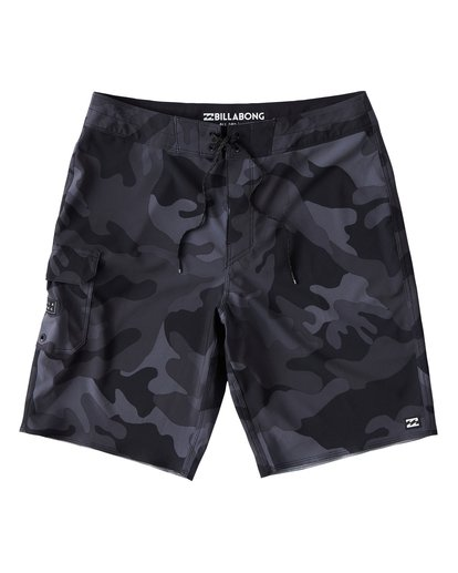 0 All Day Camo Pro Boardshorts Black M196VBAD Billabong