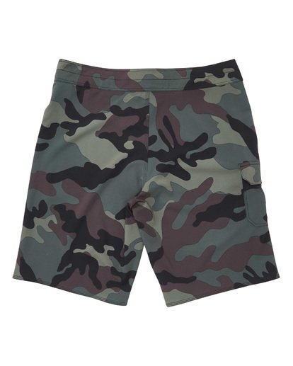 1 All Day Camo Pro Boardshorts Black M196VBAD Billabong