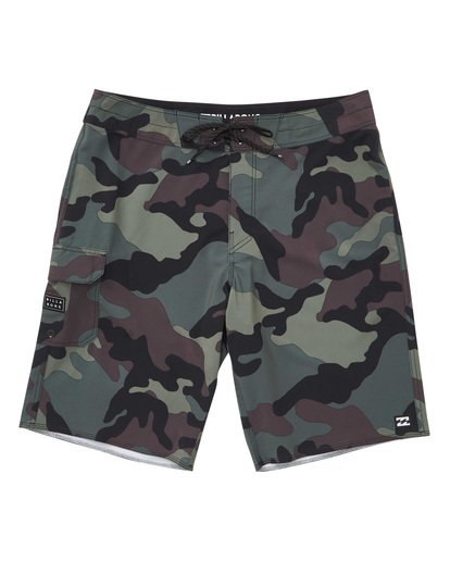0 All Day Camo Pro Boardshorts Camo M196VBAD Billabong