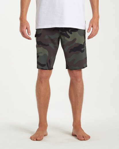 2 All Day Camo Pro Boardshorts Black M196VBAD Billabong