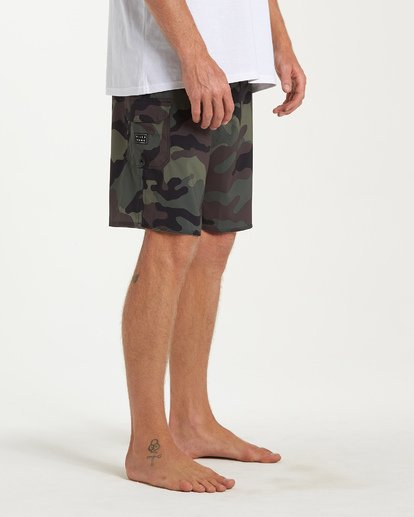 4 All Day Camo Pro Boardshorts Camo M196VBAD Billabong