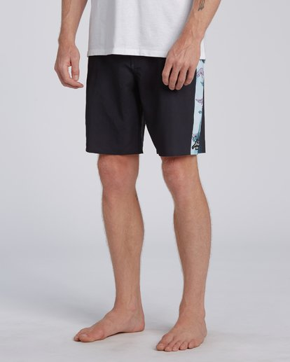 4 All The Places Dbah Boardshort Black M1973BSD Billabong
